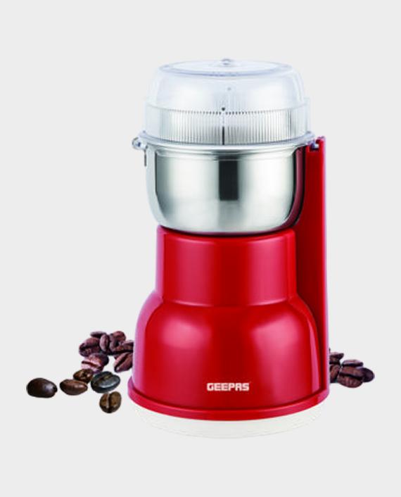 Geepas GCG5440 180 Watts Stainless Steel Coffee Grinder in Qatar