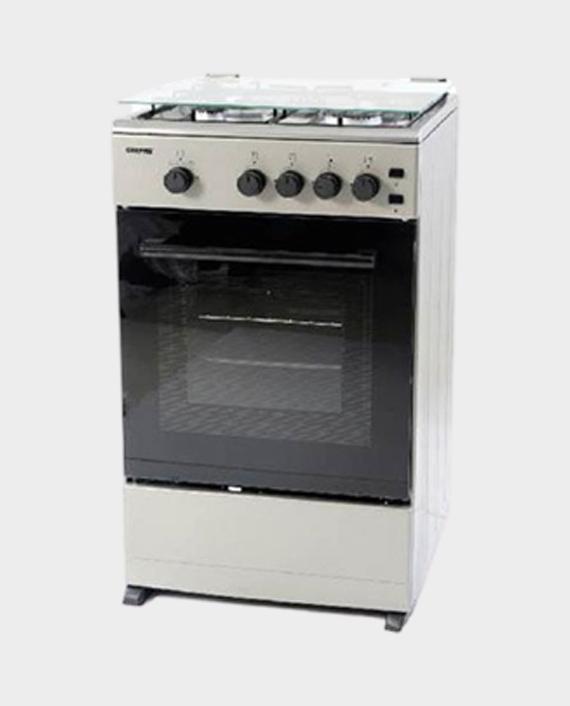 Geepas GCR5016NBST 50 x 55 4 Burner Cooking Range 1x1 in Qatar