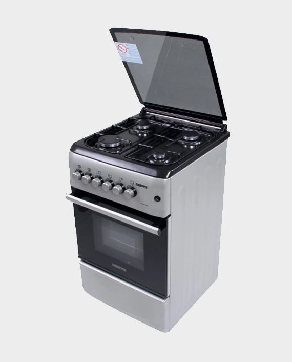 Geepas GCR5555 4 Burner Freestanding Gas Cooking Range with Safety Grill in Qatar