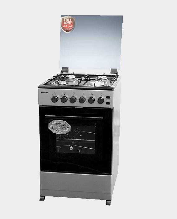 Geepas GCR5557FBST Free Standing Cooking Range in Qatar