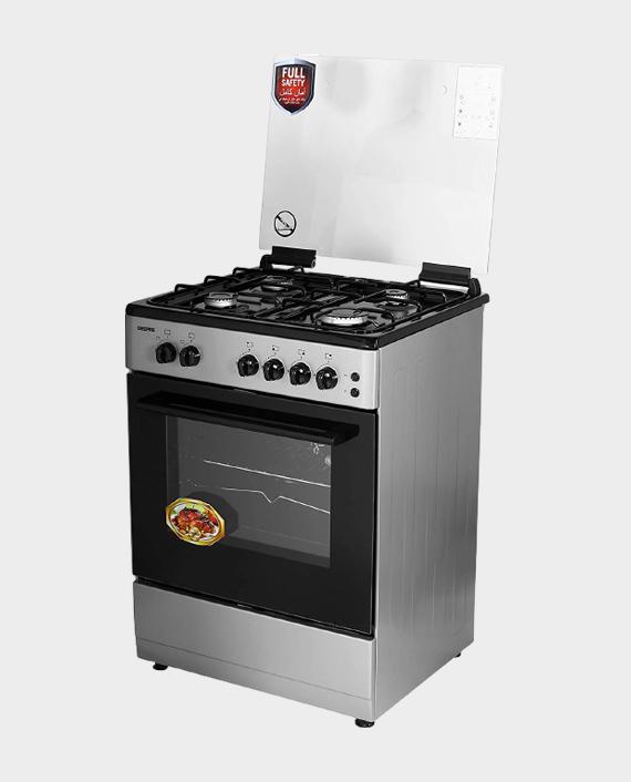 Geepas GCR6067FBST 60x60 4Gas Freestanding Cooking Range in Qatar