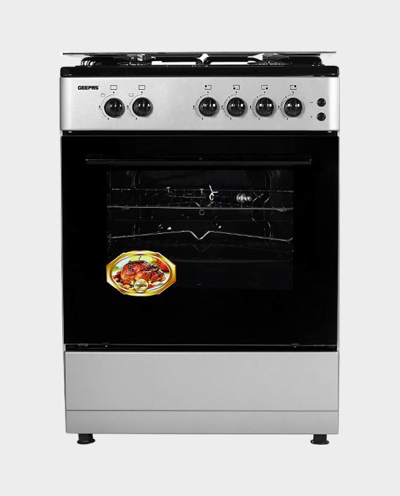 Geepas GCR6067FBST 60x60 4Gas Free standing Cooking range