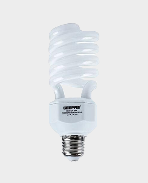 Geepas GESL124N Spiral Energy Saving Lamp in Qatar