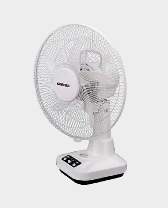 Geepas GF21118 Rechargeable 12 inch Oscillating Fan in Qatar