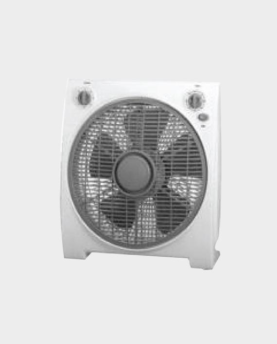 Geepas GF9614 12-inch 3 Speed Box Fan with Timer in Qatar