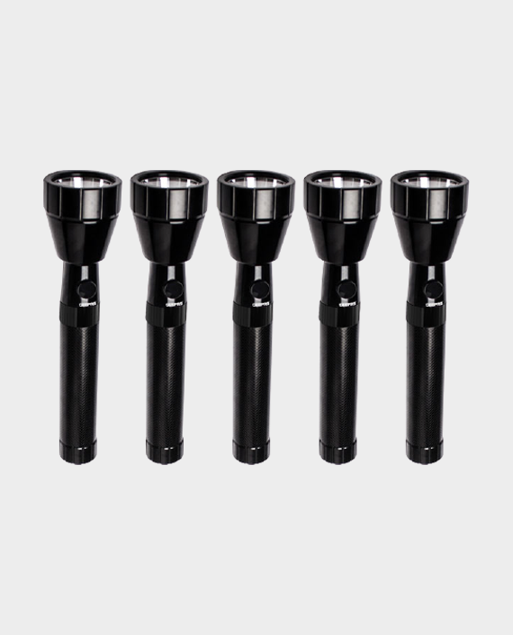 Geepas GFL51075 5 in 1 Rechargeable LED Flashlight in Qatar