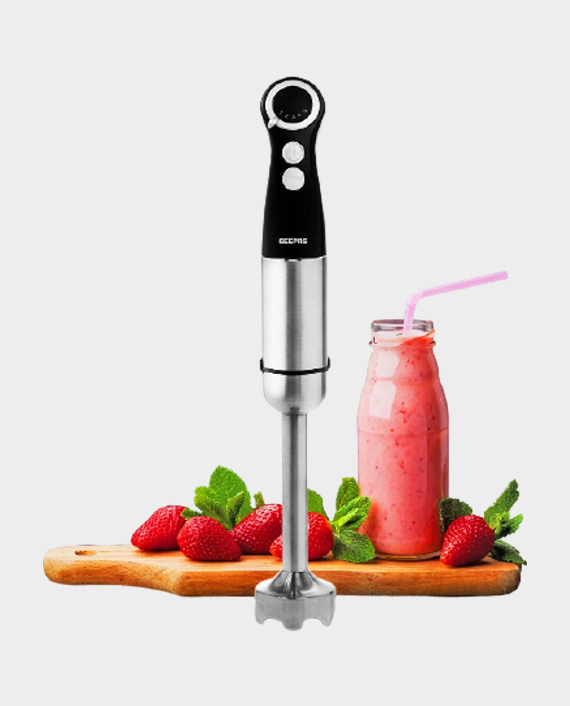Geepas GHB43017UK 800W Hand Blender Black/Silver in Qatar