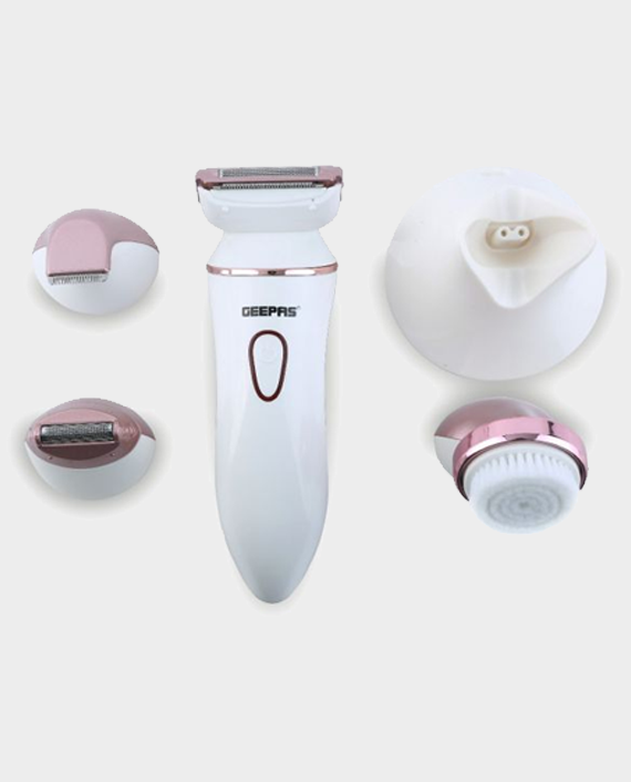 Geepas GLS8718 4 In 1 Rechargeable Ladies Beauty Set in Qatar
