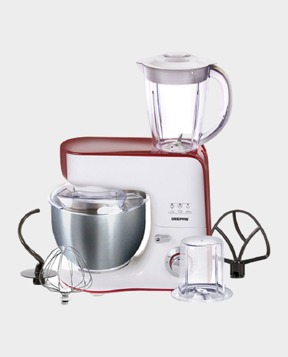 Geepas GSM43011 1000W 5 In 1 Stand Mixer in Qatar