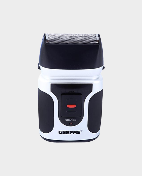 Geepas GSR110N 3 Watt 2 in 1 Rechargeable Mens Shaver and Nose Trimmer