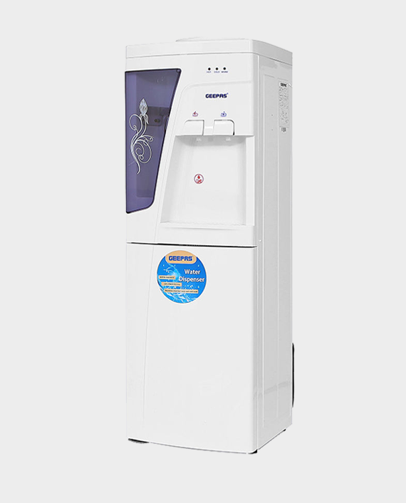 Geepas GWD8359 Hot and Cold Water Dispenser with Cabinet in Qatar