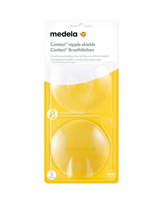 Medela 200.163 Contact Nipple Shields Large-24mm 2 Piece