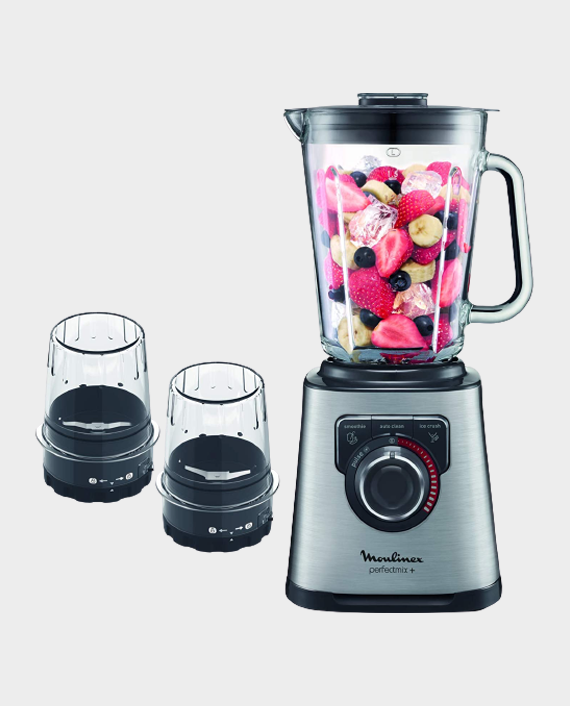 Moulinex LM815D27 Perfect Mix Blender Black/Silver in Qatar