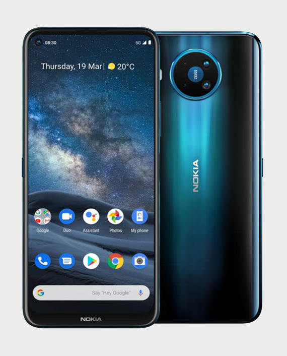 Nokia 8.3 5G 8GB 128GB Blue Price in Qatar