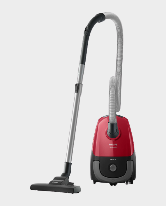 Philips FC8293/62 PowerGo Vacuum Cleaner with Bag Sporty Red in Qatar