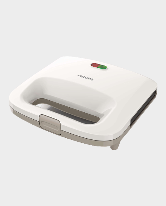 Philips HD2393/02/01 Daily Collection Sandwich Maker White/Beige in Qatar
