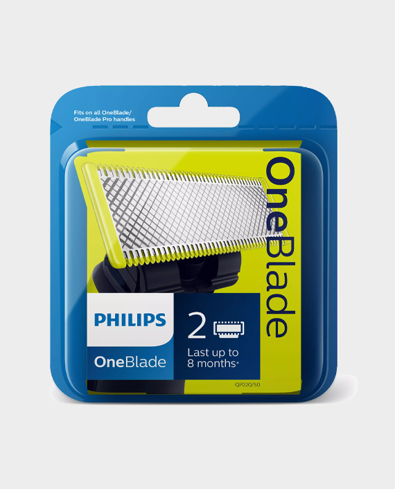 Philips QP220-50 OneBlade Replaceable Blade 2 Pack