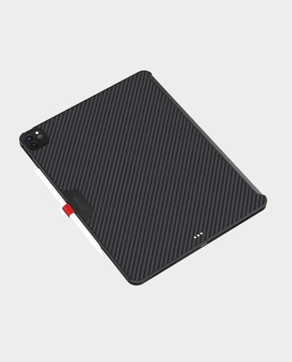 "Pitaka iPad Pro 12.9"" 4th-Gen (2020) Aramid MagEZ Case Black Grey Twill in Qatar"