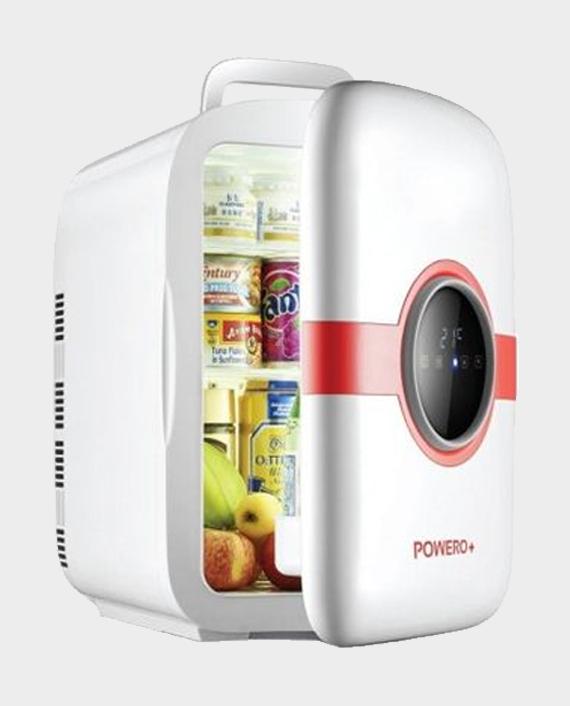 Powero Plus 22L Mini Refrigerator Dual-Core CNC Version Red in Qatar