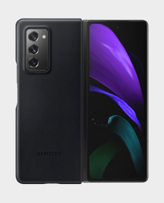 Samsung Galaxy Z Fold-2 Leather Cover in Qatar