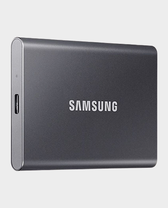 Samsung MU-PC500T WW T7 Portable External SSD 500 GB Titanium Grey in Qatar
