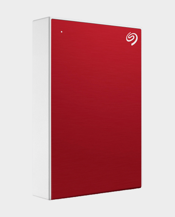 Seagate 5TB One Touch Portable Hard Drive Red in Qatar