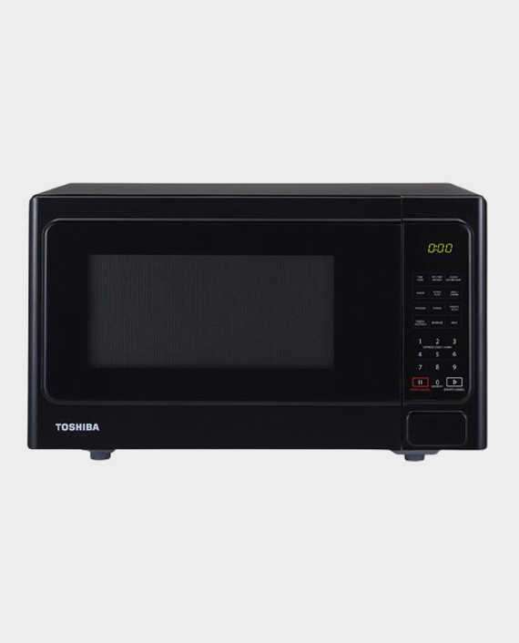 Toshiba MM-EG25P(BK) 25L Microwave Oven with Grill Function in Qatar