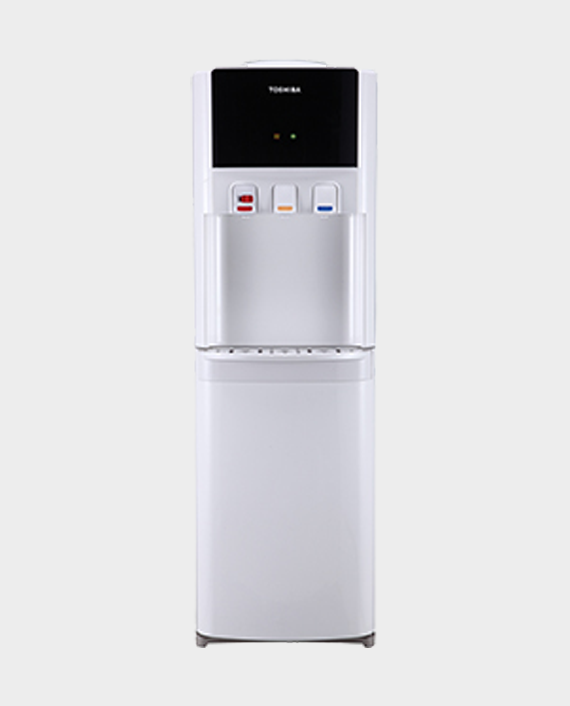 Toshiba RWF-W1766TU(W) 20 L Top Load Water Dispenser with Child Safety Lock in Qatar
