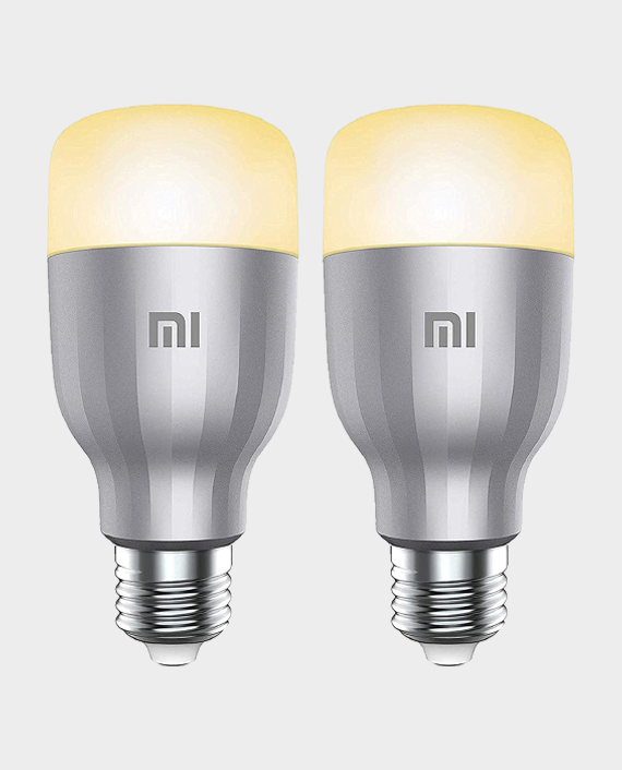 Xiaomi Mi LED Smart Bulb White & Colour 2 Pack in Qatar