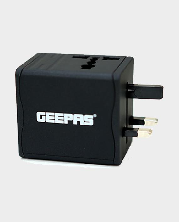 Geepas GA58020 Universal Dual USB Adaptor in Qatar