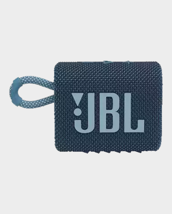 JBL Go 3 Portable Wireless Speaker Blue in Qatar