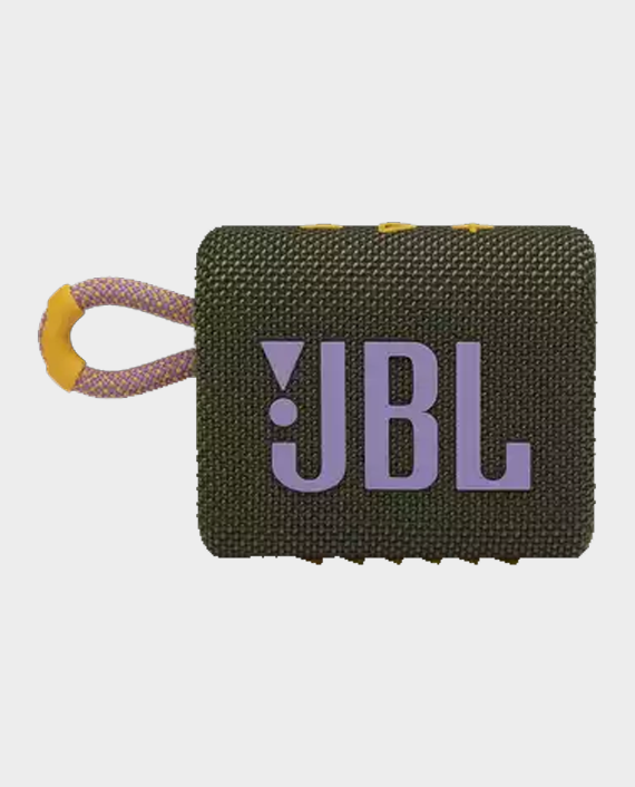 JBL Go 3 Portable Wireless Speaker Green in Qatar