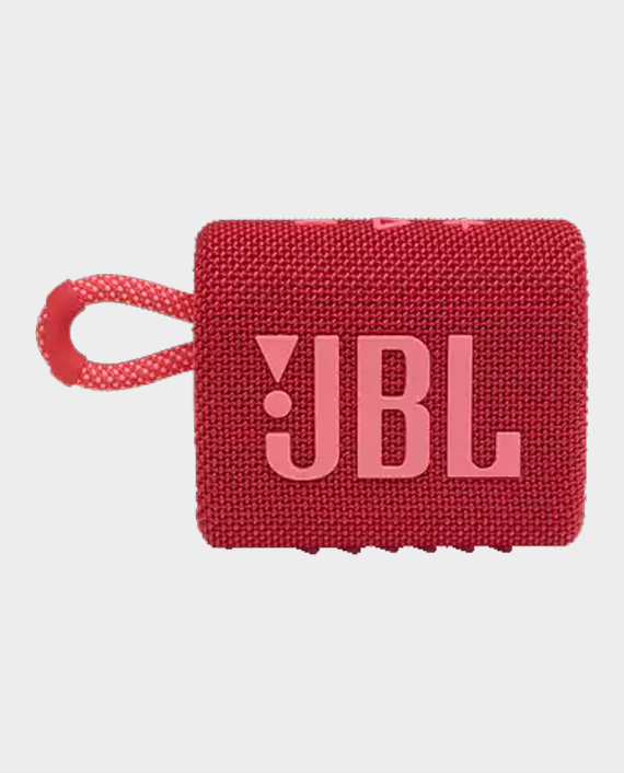JBL Go 3 Portable Wireless Speaker Red in Qatar