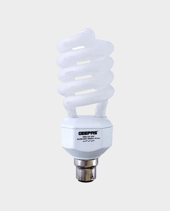 Geepas GESL123N Spiral Energy Saving Lamp in Qatar