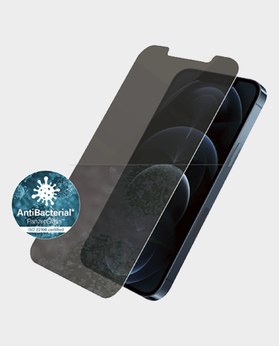 PanzerGlass Privacy Apple iPhone 12 Pro Max Screen Protector in Qatar