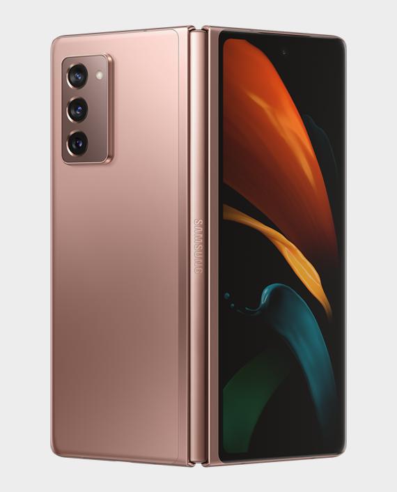 Samsung Galaxy Z Fold 2 5G 12GB 256GB Mystic Bronze in Qatar