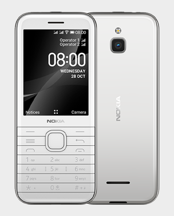 Nokia 8000 DS 4G White in Qatar