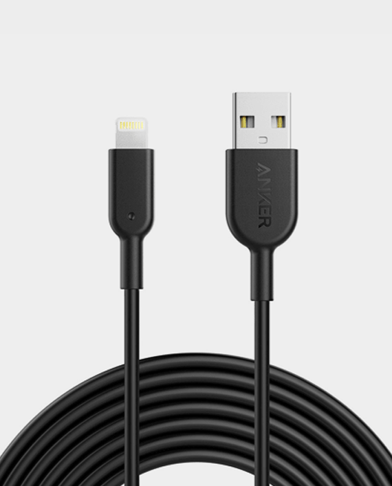 Anker PowerLine II Lightning Cable 10ft in Qatar