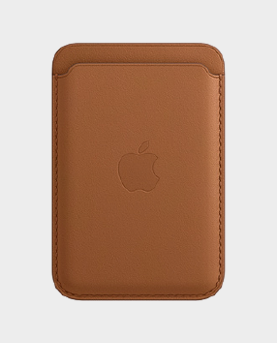 Apple MagSafe iPhone Leather Wallet Brown in Qatar
