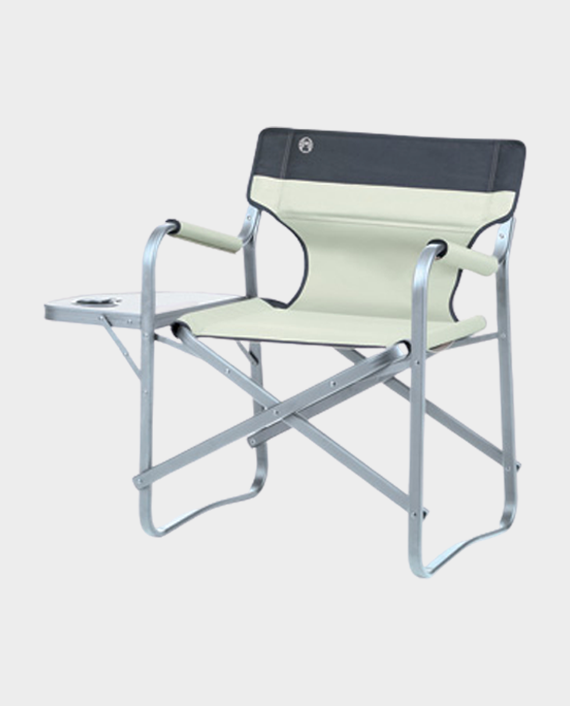 Coleman 204066 Deck Chair with Table Khaki in Qatar