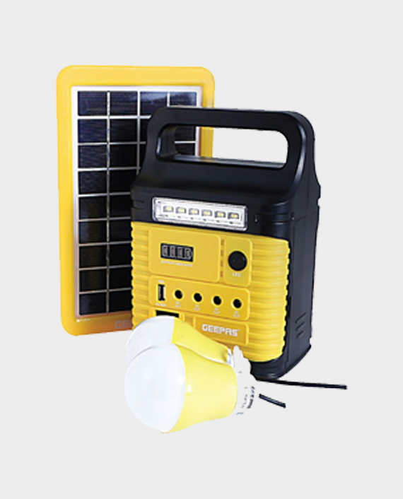 Geepas GPS5901 Rechargeable Home Solar System in Qatar