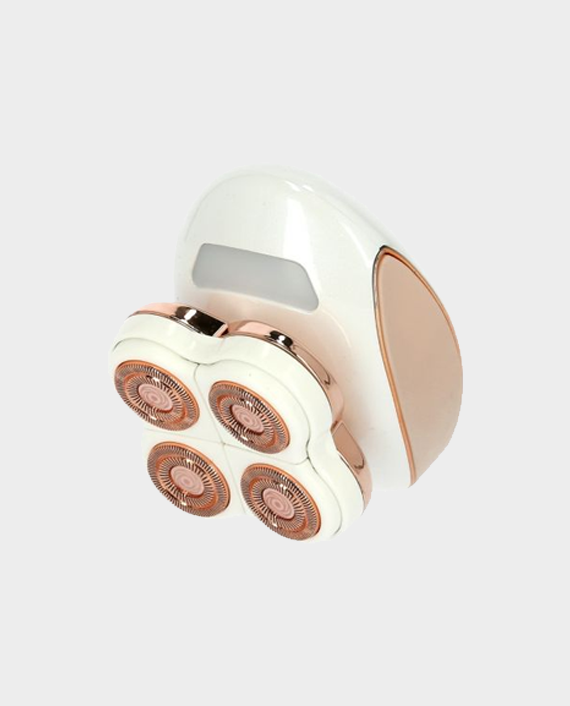 Geepas GLS86042 Rechargeable Four Head Ladies Shaver Beige in Qatar