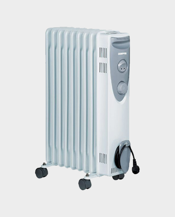 Geepas GRH9537 9 Fins Oil Filled Room Heater in Qatar