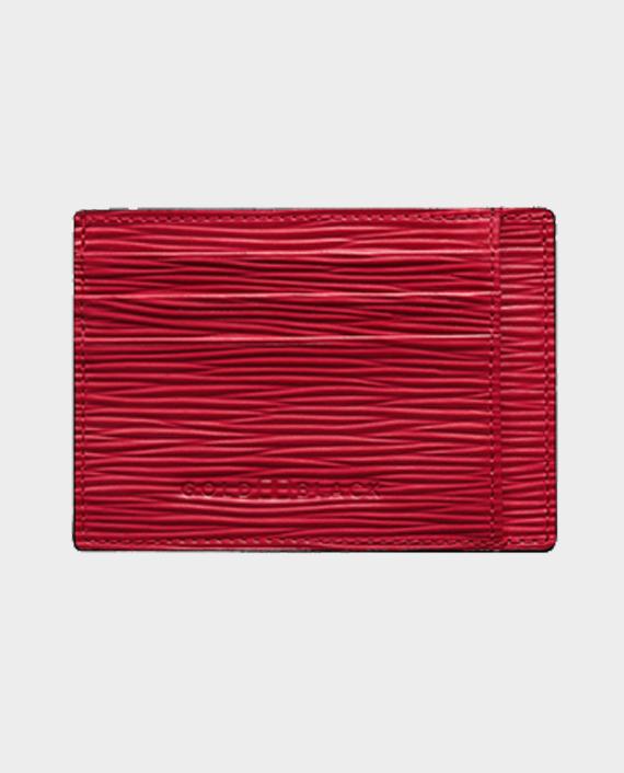 Gold Black Card Holder Bill Unico Red in Qatar