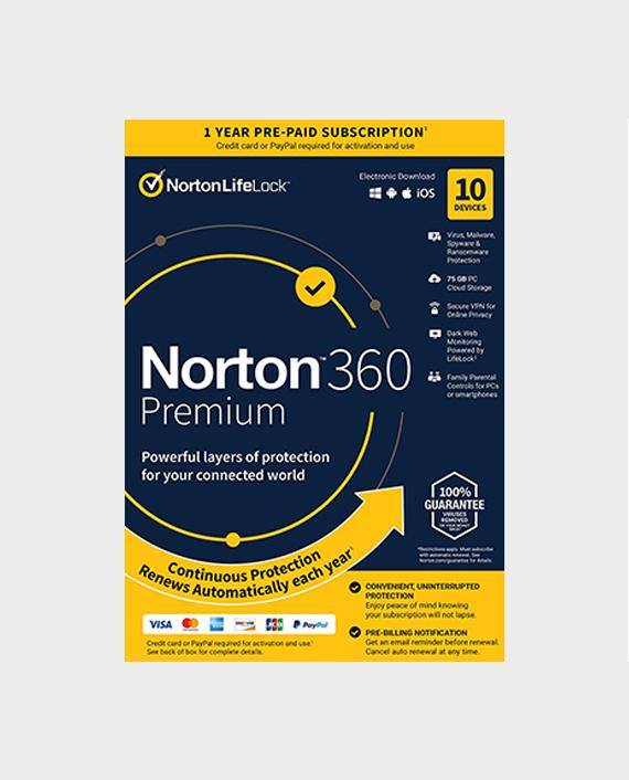 Norton 360 Deluxe 50GB A 10 User in Qatar