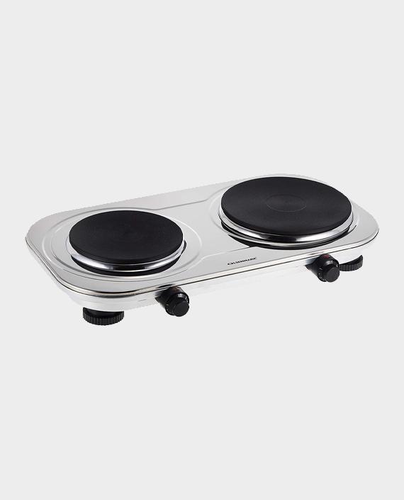 Olsenmark OMHP2396 Stainless Steel Double Hot Plate in Qatar