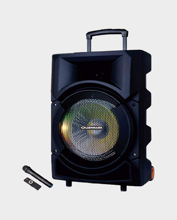 Olsenmark OMMS1179 Party Speaker with Remote Control & Mic in Qatar