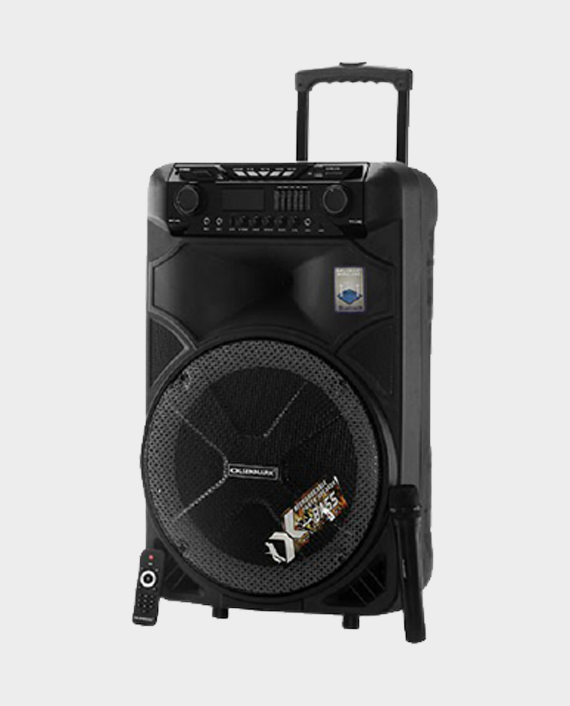 Olsenmark OMMS1180 Party Speaker with Remote Control & Mic in Qatar