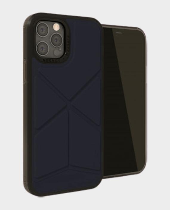 Pipetto iPhone 12 Pro Max Origami Snap Case Dark Blue in Qatar