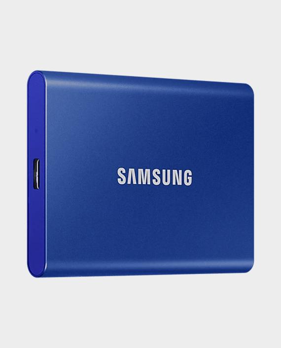 Samsung T7 1TB Portable SSD USB 3.2 Indigo Blue